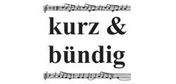 Musikgruppe kurz & bündig